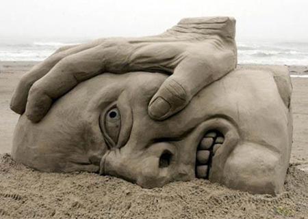 Τρώω άμμο , αλλά θα ήθελα να γίνω το χέρι!